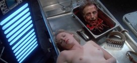 Barbara Crampton nude topless bush and bloody - Re-Animator (1985) hd1080p (7)