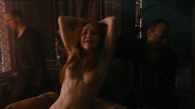 Carice van Houten nude topless and Emilia Clarke hot not nude - Game of Thrones (2015) s5e4 hd720/1080p (5)