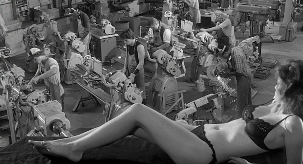 Diane Lane hot and sexy in lingerie others nude topless - Rumble Fish (1983) hd1080p (5)