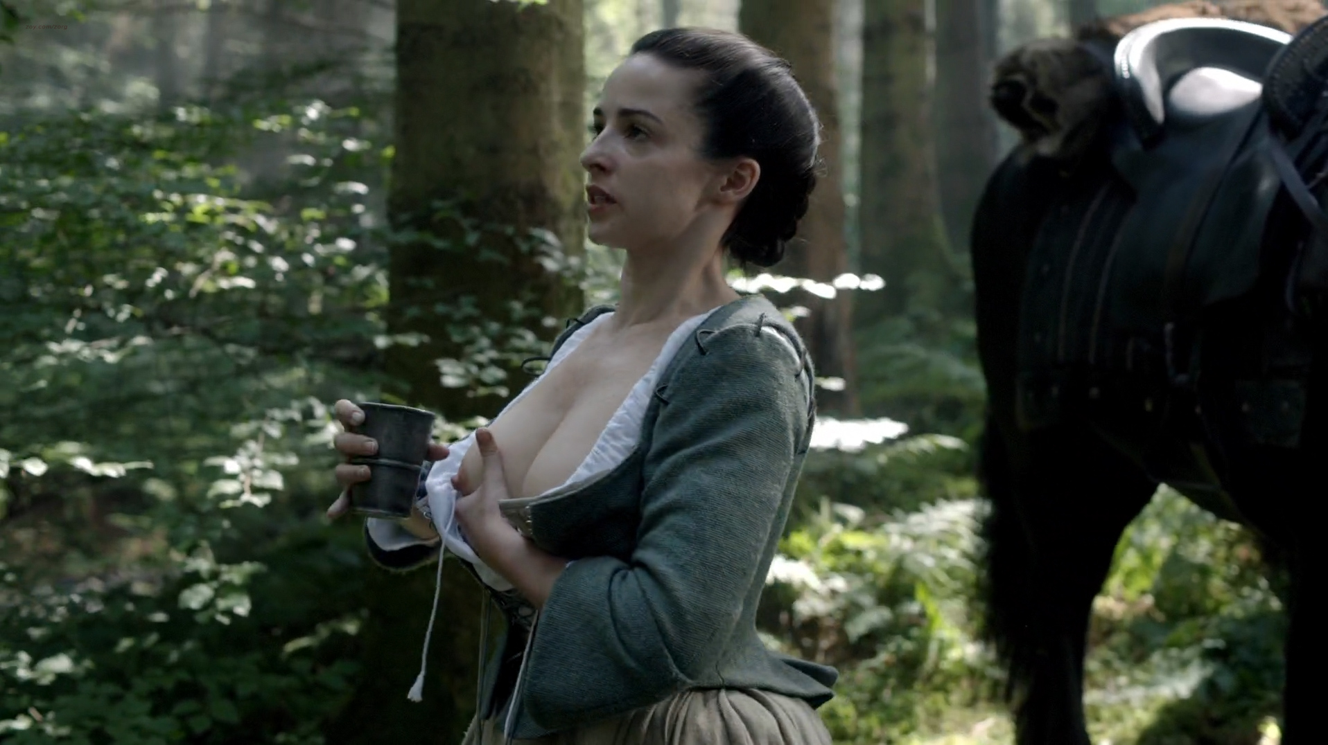 Something is. nude laura donnelly outlander