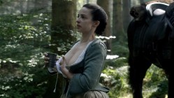 Laura Donnelly nude topless milking herself - Outlander (2015) s1e14 hd720-1080p (1)