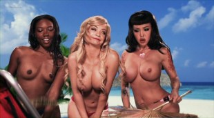 Mindy Robinson nude topless Masuimi Max & Chanell Heart nude too - Gingerdead Man Vs. Evil Bong (2013)