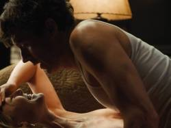 Rosamund Pike nude side boob sex and Ayelet Zurer nude topless and sex - Fugitive Pieces (2007) HD 1080p (7)