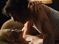 Rosamund Pike nude side boob sex and Ayelet Zurer nude topless and sex - Fugitive Pieces (2007) HD 1080p (6)