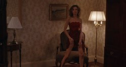 Toni Collette nude brief topless and Calista Flockhart hot and sexy - The Last Shot (2004) hd720p (6)