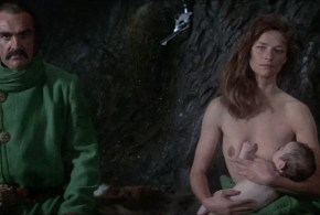 Charlotte Rampling nude topless Sara Kestelman nude and Sally Anne Newton nude too - Zardoz (UK-1974) BluRay hd1080p (12)