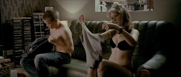 Charlotte Spencer hot in lingerie - Wild Bill (UK-2011) (8)