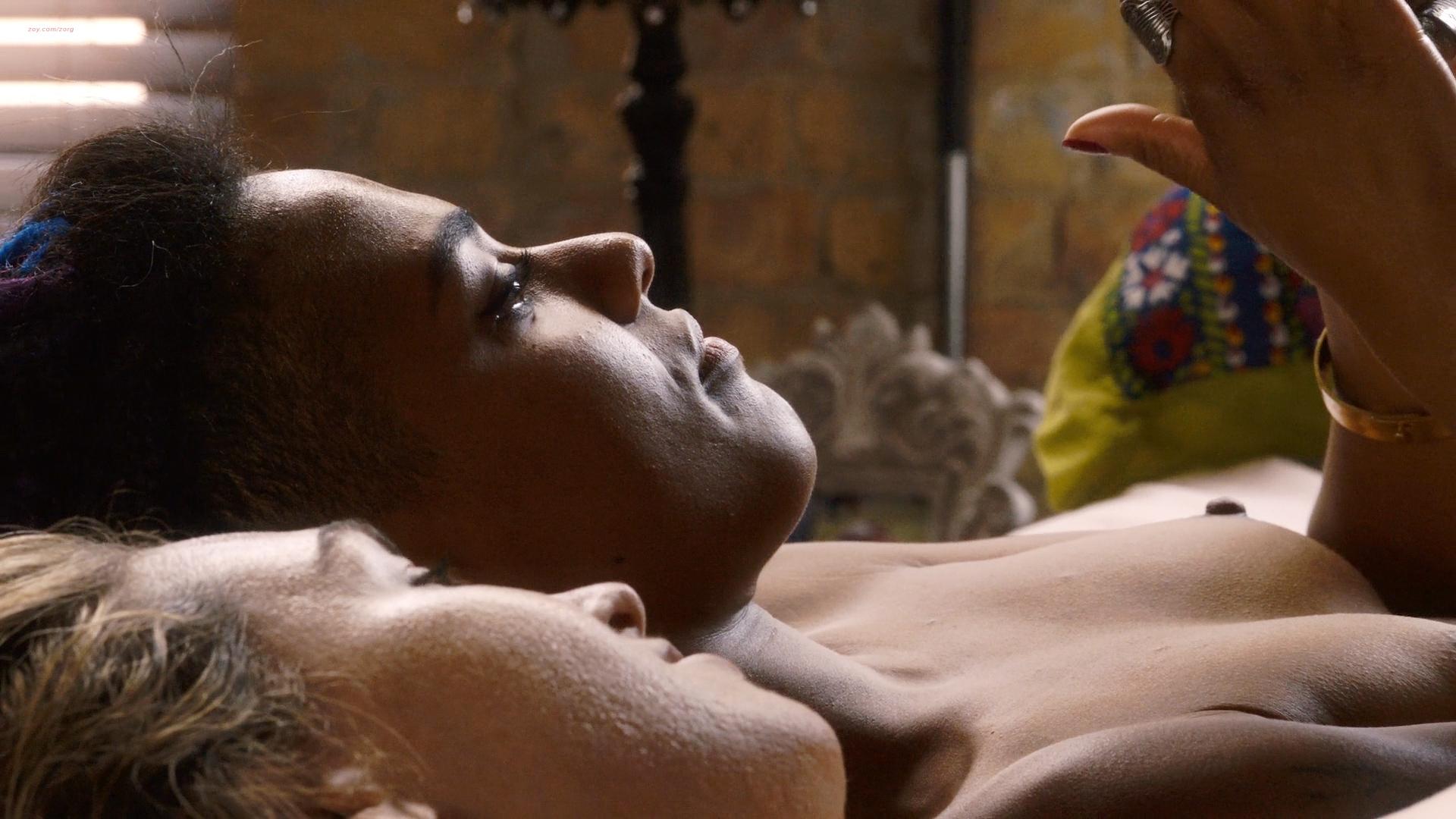 Anja Ali Samantha Lesbian Porn jamie clayton nude topless and lesbian sex with freema