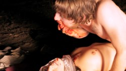 Jodi Balfour nude topless bloody and dead - Vampire (2011) hd1080p BluRay (2)