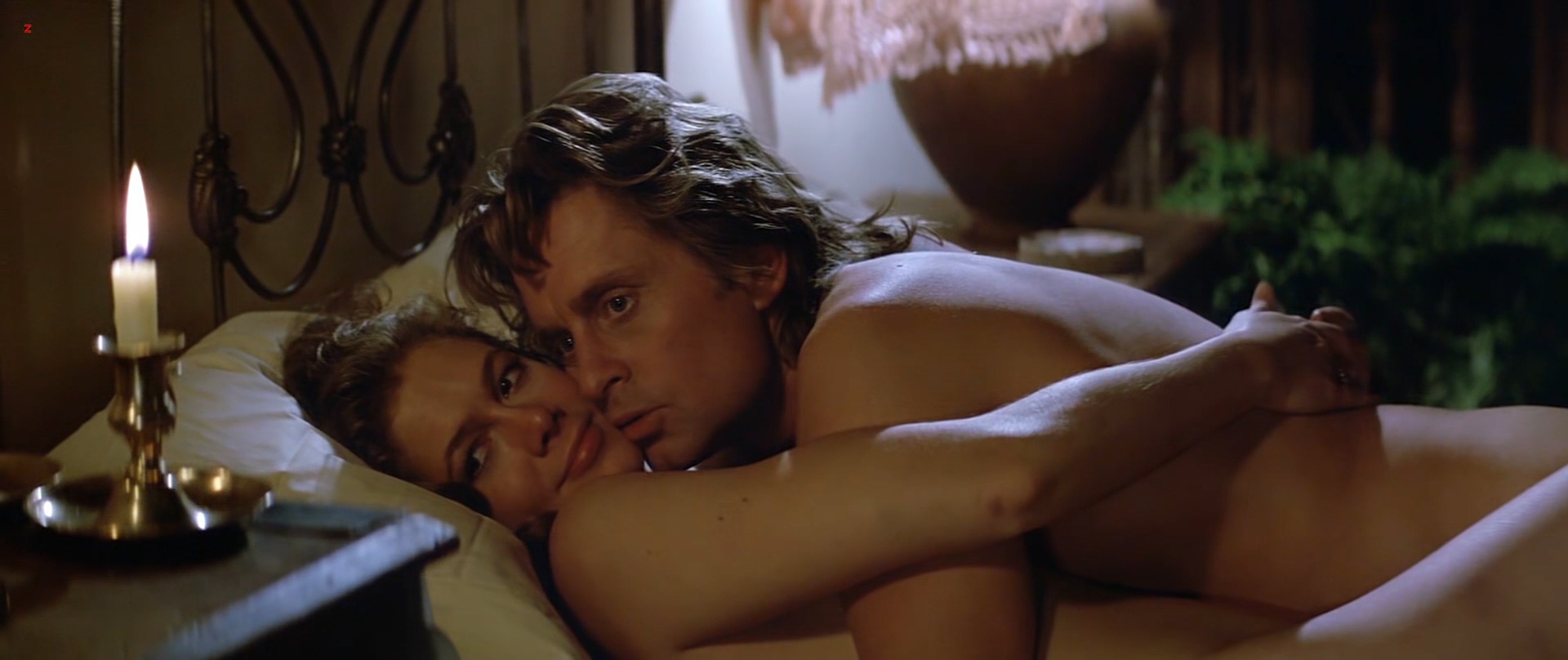 Kathleen Turner nude but covered side boob Kymberly Herrin hot see through - Romancing the Stone (1984) hd1080p BluRay (12)