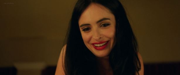 Krysten Ritter hot and sexy in black lingerie - Search Party (2014) BluRay HD 1080p (18)