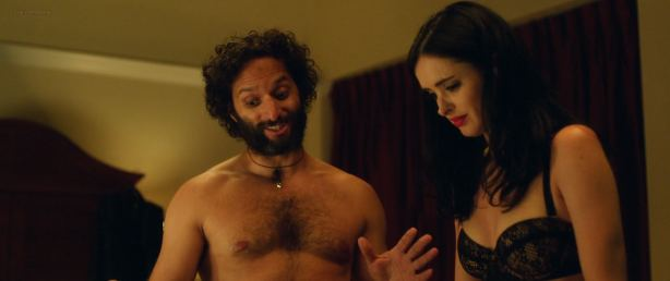 Krysten Ritter hot and sexy in black lingerie - Search Party (2014) BluRay HD 1080p (9)
