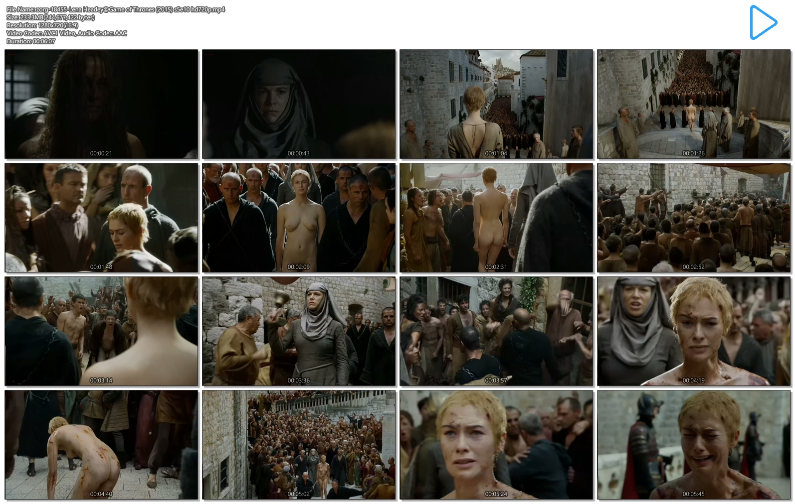 Lena Headey nude full frontal bush - Game of Thrones (2015) s5e10 hd720-1080p (22)