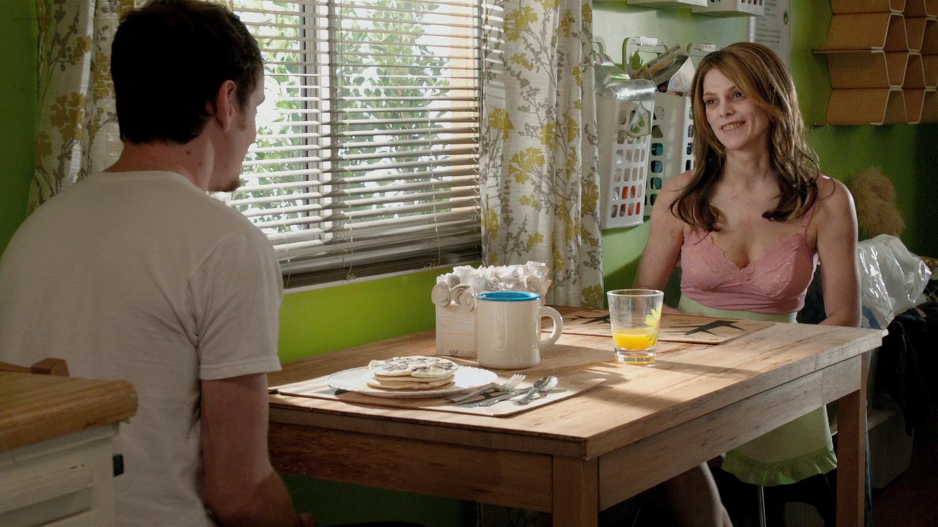 Alexandra Daddario hot cleavage and Ashley Greene hot - Burying the Ex (2014) hd1080p BluRay (5)