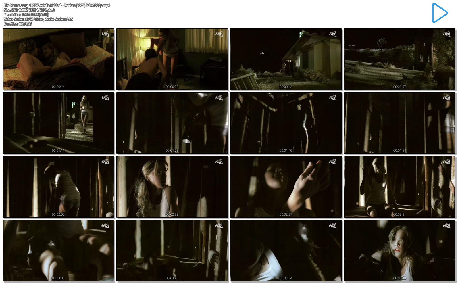 Arielle Kebbel hot undies and pokies - Reeker (2005) hdtv1080p (9)