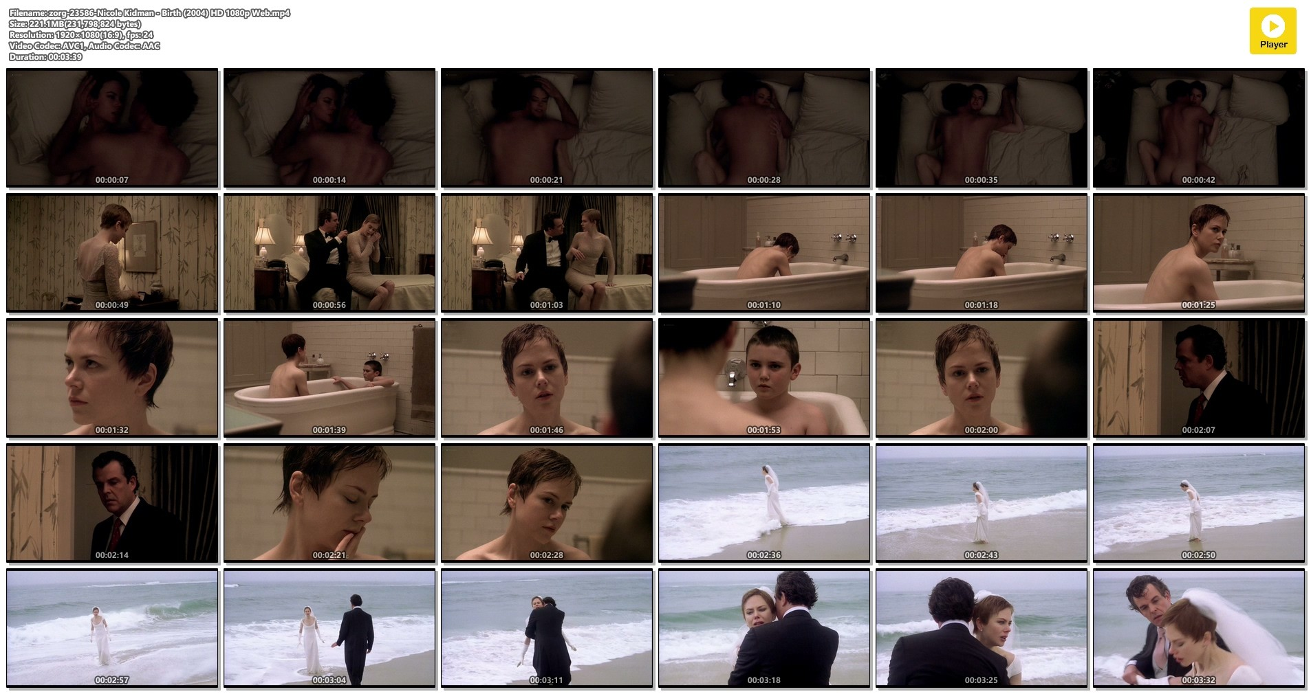 Nicole Kidman nude brief topless and sex - Birth (2004) HD 1080p Web (1)