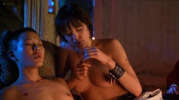 Angelina Jolie nude Hedy Burress and Jenny Shimizu nude too - Foxfire (1996) HD 1080p Web (5)