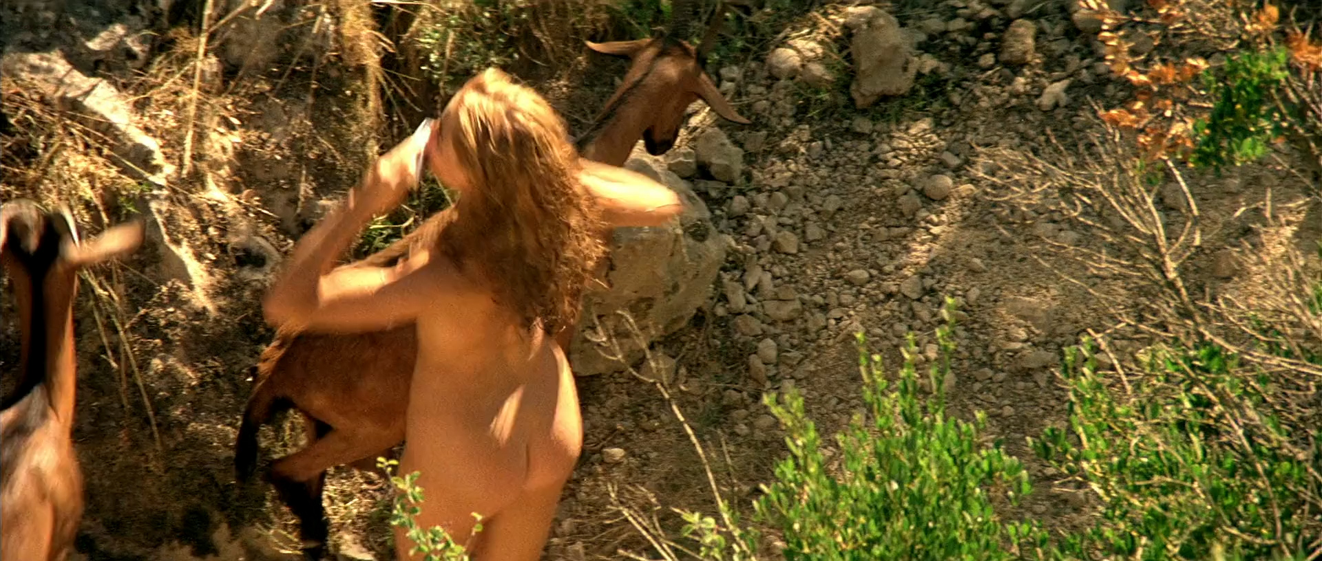 Emmanuelle Béart nude full frontal bush and tits - Manon des sources (FR-1986) hd1080p BluRay (16)