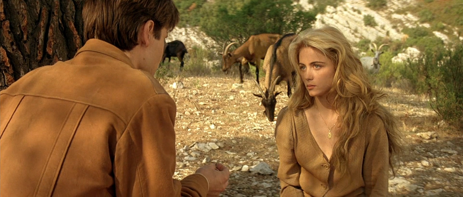Emmanuelle Béart nude full frontal bush and tits - Manon des sources (FR-1986) hd1080p BluRay (22)