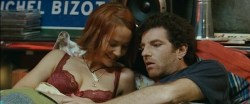 Karina Testa nude topless and Carine Lacroix not nude hot in lingerie - Ze film (FR-2005) (8)