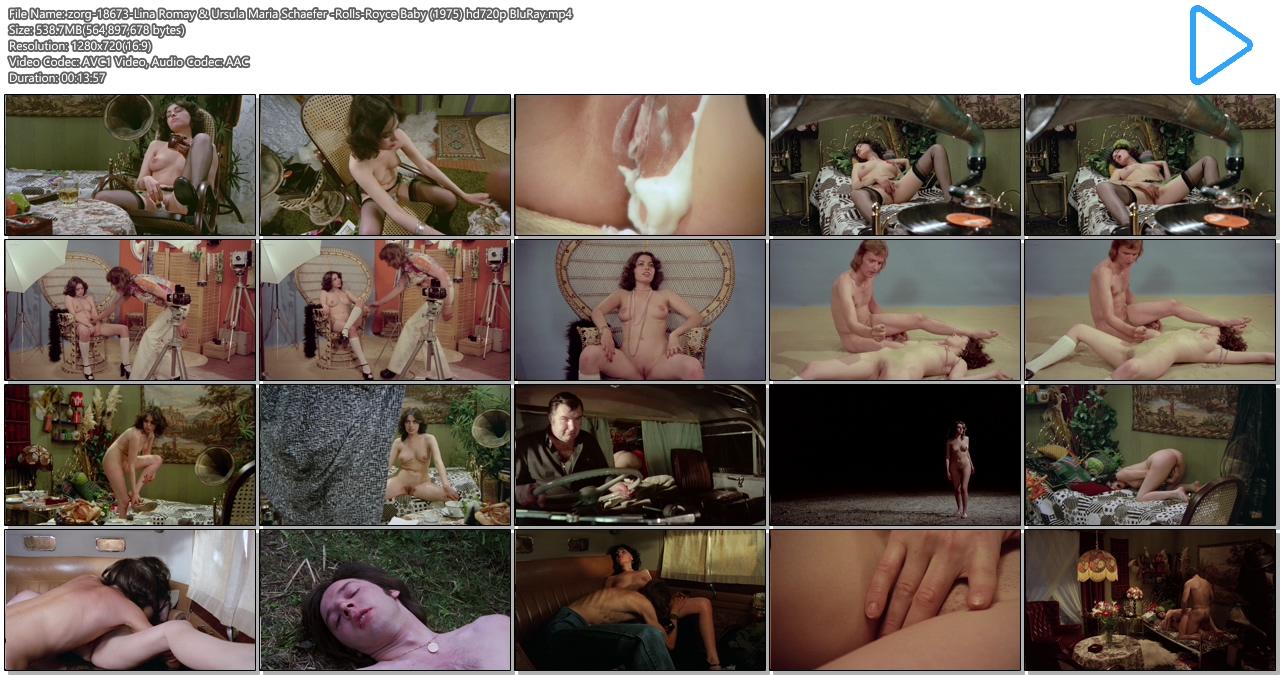 Lina Romay nude bush explicit oral sex andUrsula Maria Schaefer nude sex - Rolls-Royce Baby (1975) hd720p BluRay (2)