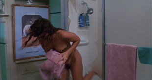 Tawny Kitaen nude bush and topless in the shower - Witchboard (1985) HD 1080p (4)