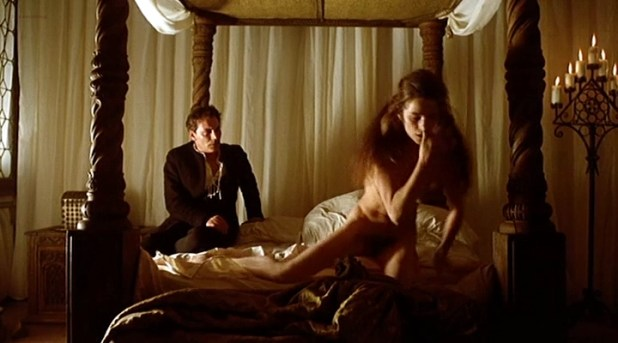 Charlotte Rampling nude full frontal bush and tits - Giordano Bruno (1973) (10)