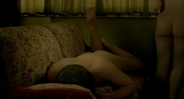 Holliday Grainger nude and Lydia Wilson nude sex - Any Human Heart (UK-2010) (7)