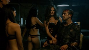 Roxanne McKee hot sex foursome with Kim Engelbrecht and others - Dominion (2015) s2e8 hd1080p WEB-DL