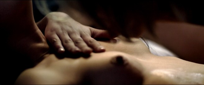 Ana de Armas nude and Lorenza Izzo nude - Knock Knock (2015) HD 720-1080p BluRay (7)