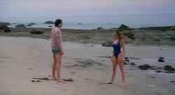 Virginia Madsen nude in the shower and Mariel Hemingway nude - Creator (1985) HDTV 720p (7)
