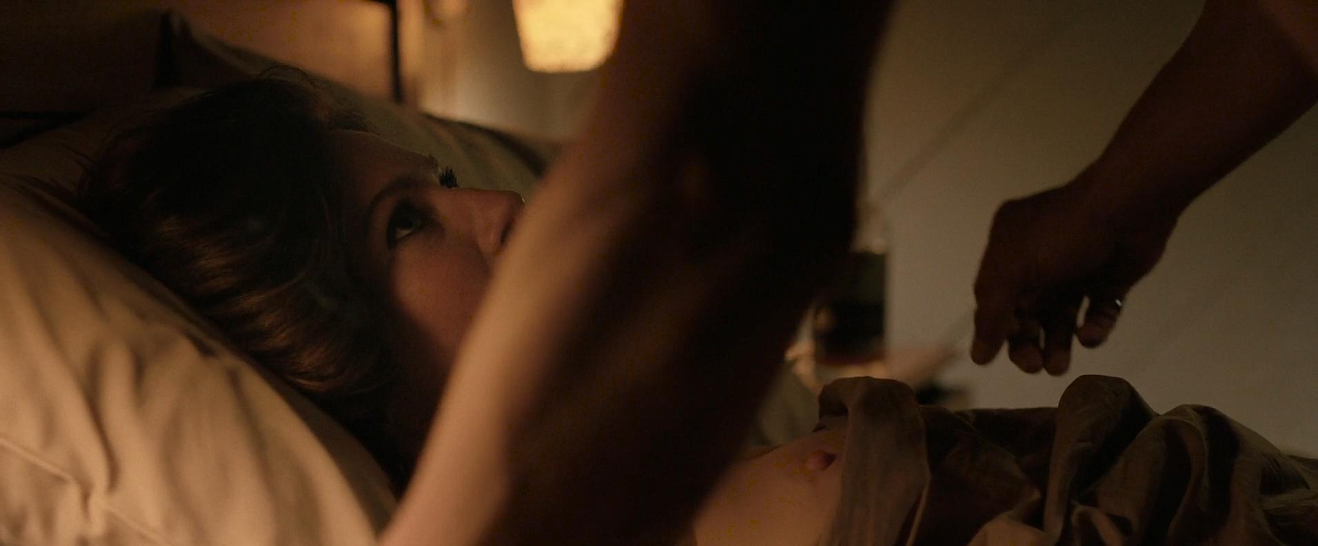 Lynn Collins nude brief nipple - Lost in the Sun (2015) HD 1080p Web