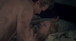Patricia Clarkson nude brief boobs – Learning to Drive (2014) HD 1080p BluRay (1)