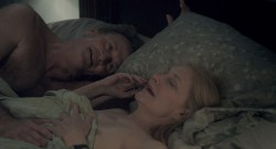 Patricia Clarkson nude brief boobs – Learning to Drive (2014) HD 1080p BluRay (5)