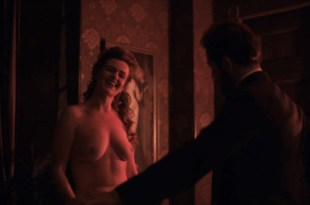 Rachel Annette Helson nude brief topless - The Knick (2015) s2e4 HD 720p (2)