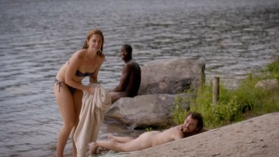 Ruth Wilson hot and wet in bikini sex doggystyle - The Affair (2015) s2e6 HD 720p (2)