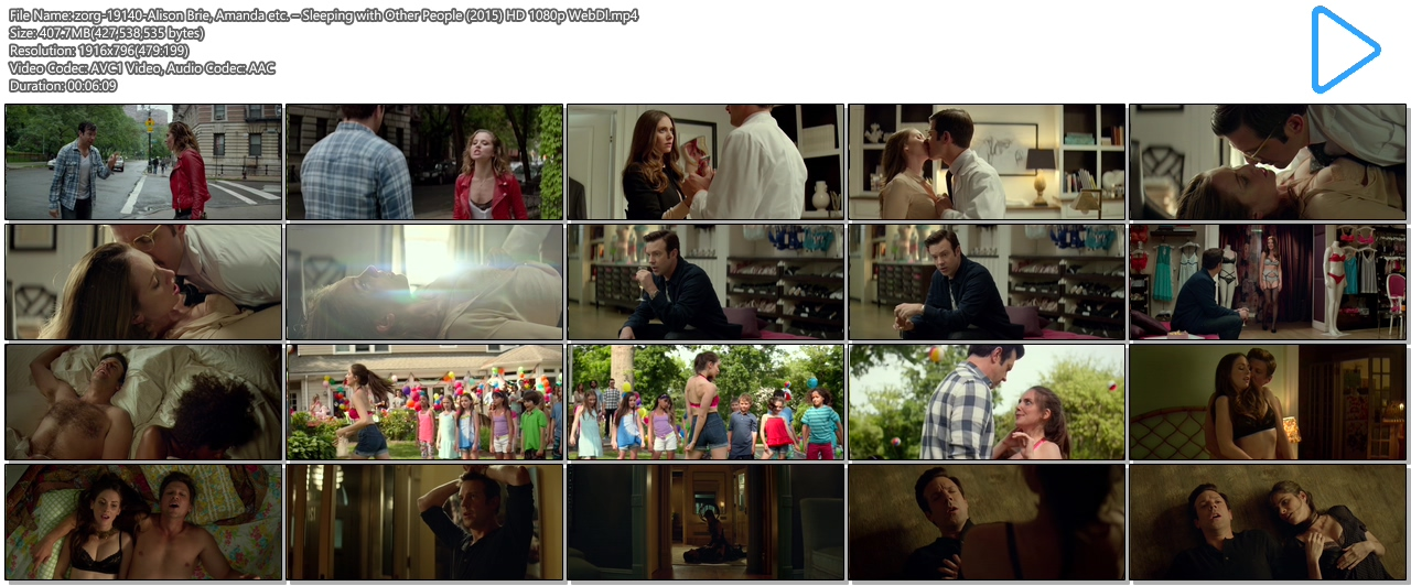 Alison Brie hot lingerie and butt in thong Amanda Peet hot - Sleeping with Other People (2015) HD 1080p (14)