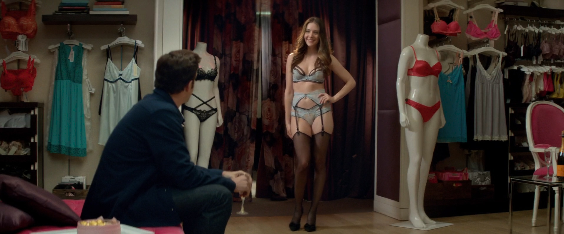 Alison Brie hot lingerie and butt in thong Amanda Peet hot - Sleeping with Other People (2015) HD 1080p (7)