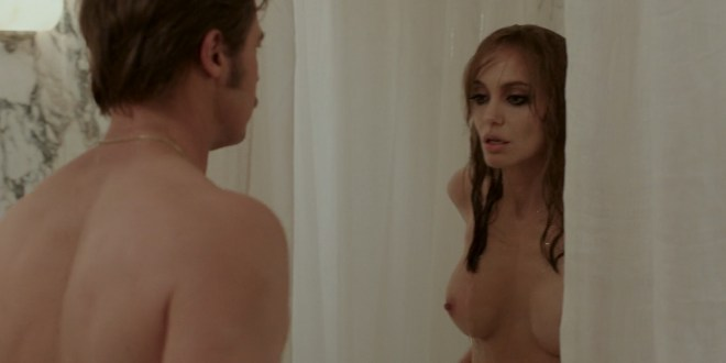 Angelina Jolie Nude Topless And Melanie Laurent Nude Sex -2509