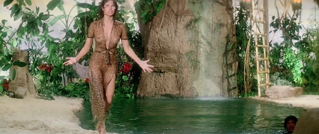 Raquel Welch hot cleavage wet and see through - L'animal (1977 hd720p (10)