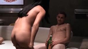 Tara Subkoff nude topless, Tiffany Limos nude butt and sex other's nude too - Teenage Caveman (2001) (3)