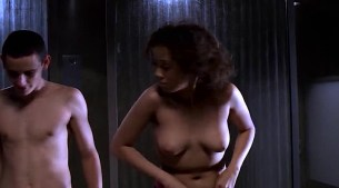 Tara Subkoff nude topless, Tiffany Limos nude butt and sex other's nude too - Teenage Caveman (2001) (10)