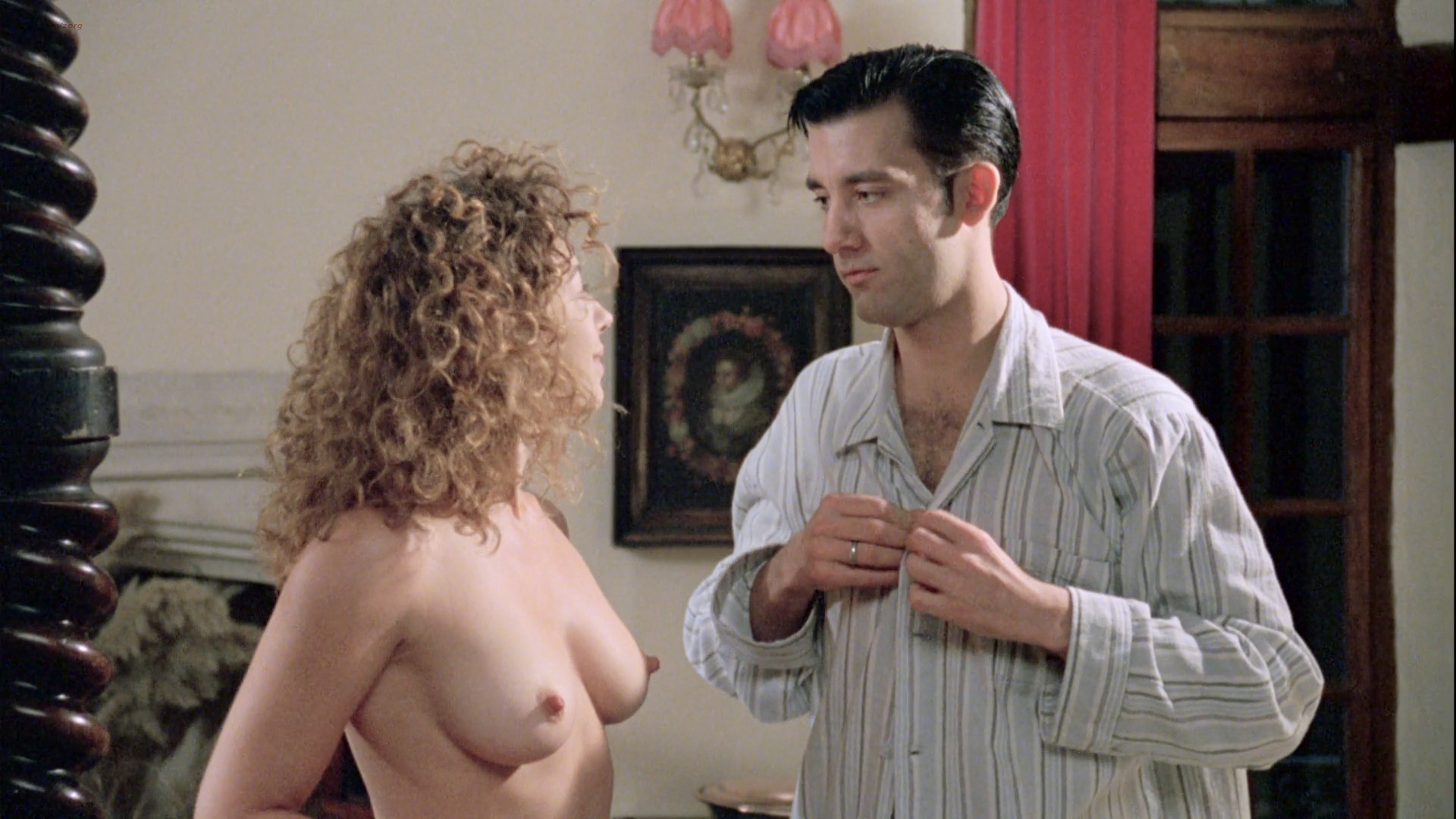 Alex Kingston nude full frontal Kate Hardie nude - Croupier (1998) HD 1080p BluRay (2)