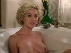 Cinzia Roccaforte nude butt and nude huge boobs, Lisa Comshaw nude sex - La Iena (1997) (11)