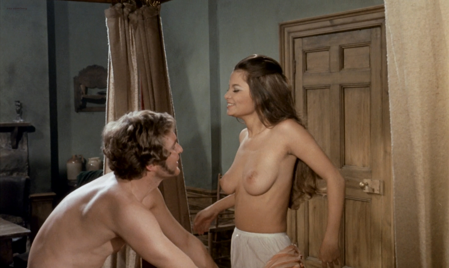 Françoise Pascal nude sex Caroline Yates and Yutte Stensgaard nude too - Burke and Hare (UK-1972) HD 1080p BluRay (31)