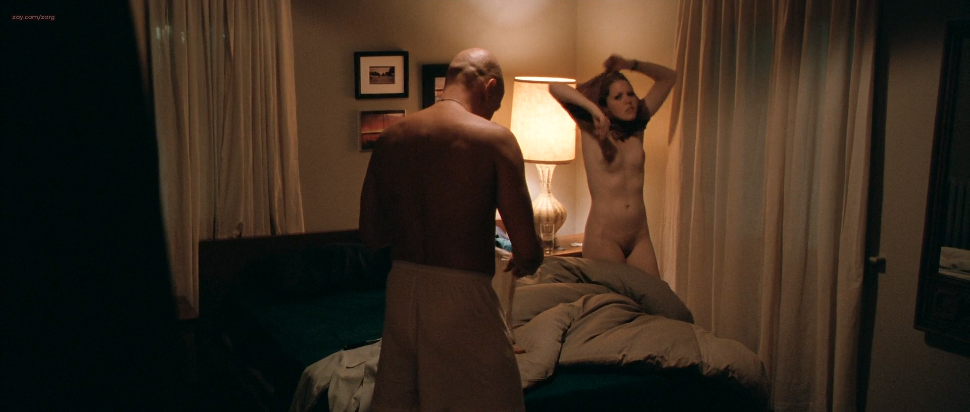 Jena Malone nude butt, boobs and Lisa Joyce nude full frontal - The Messenger (2009) HD 1080p (10)