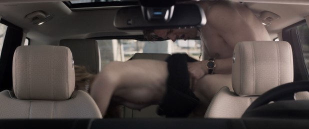 Morgan Wolk nude topless and sex in the car - Criminal Activities (2015) HD 1080p BluRay (2)