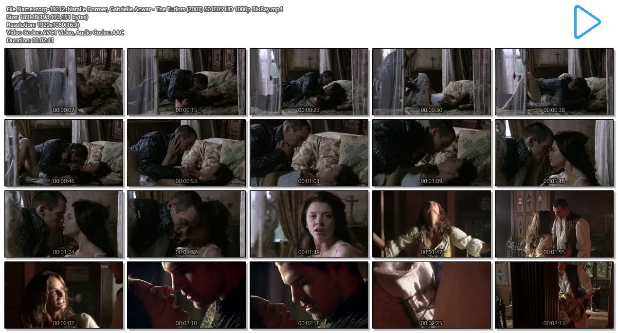 Natalie Dormer hot sex and Gabrielle Anwar hot - The Tudors (2007) S01E05 HD 1080p (10)