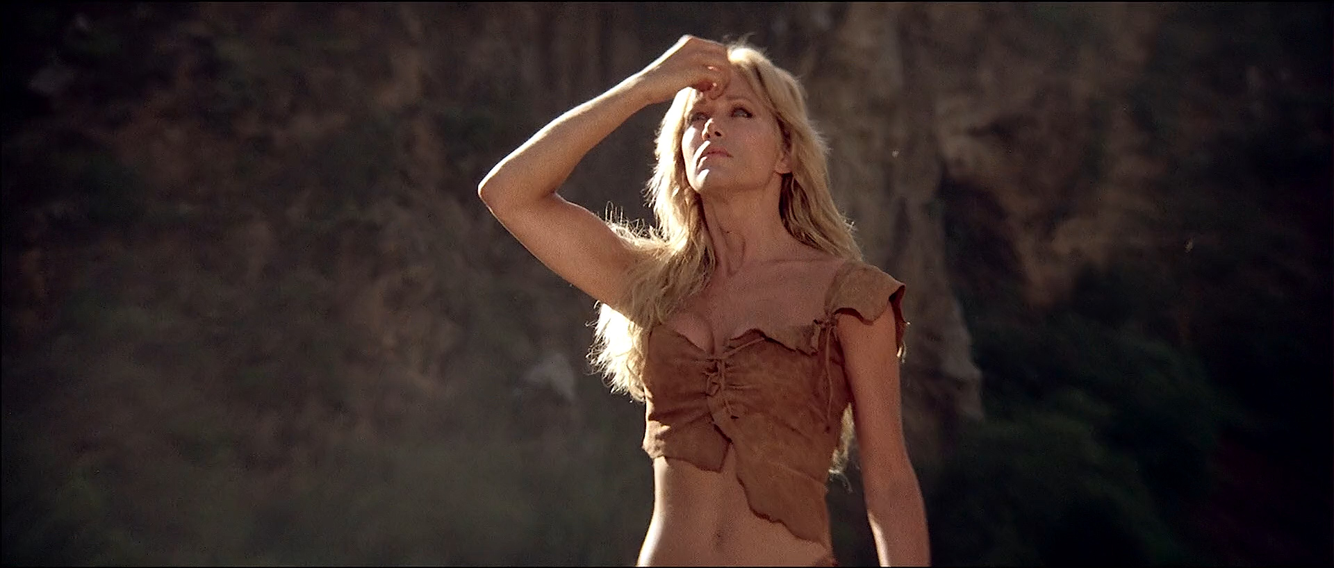 Tanya Roberts nude topless butt and France Zobda nude butt - Sheena (1984) HDTV 1080p (3)
