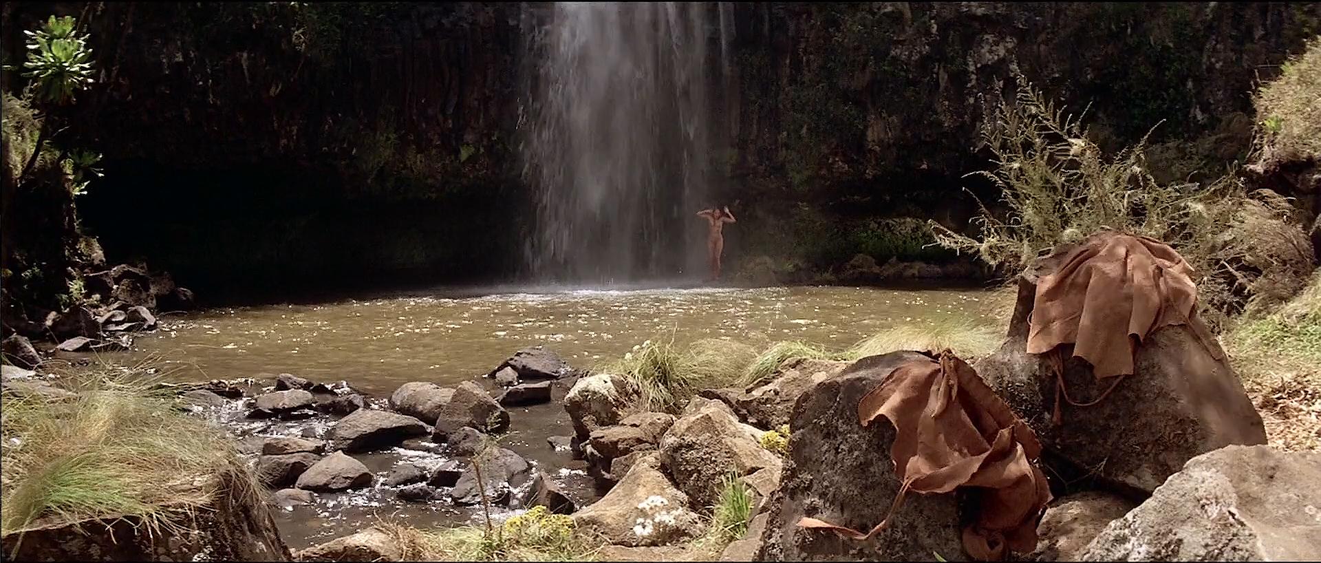 Tanya Roberts nude topless butt and France Zobda nude butt - Sheena (1984) HDTV 1080p (1)